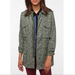 URBAN OUTFITTERS / ECOTE / GREEN MILITARY JACKET